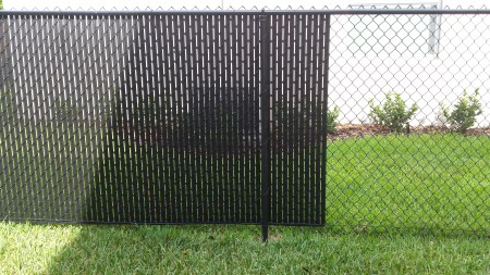 Black Chain Link Fence Cost