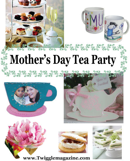 Mother\u0027s Day tea party activities, crafts, and ideas