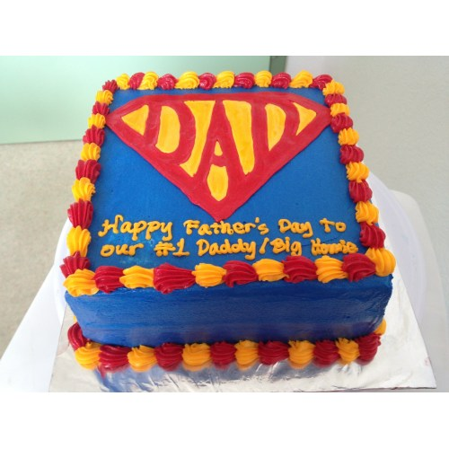 Medium Crop Of Fathers Day Cake