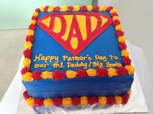 Medium Of Fathers Day Cake