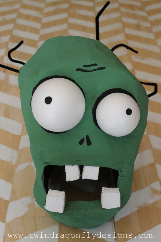 Plants vs Zombies Costume - Cone Head Zombie » Dragonfly Designs
