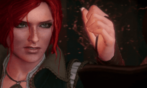 Triss_Merigold_Witcher_3_The_Wild_Hunt_E3_2014_Trailer_angry