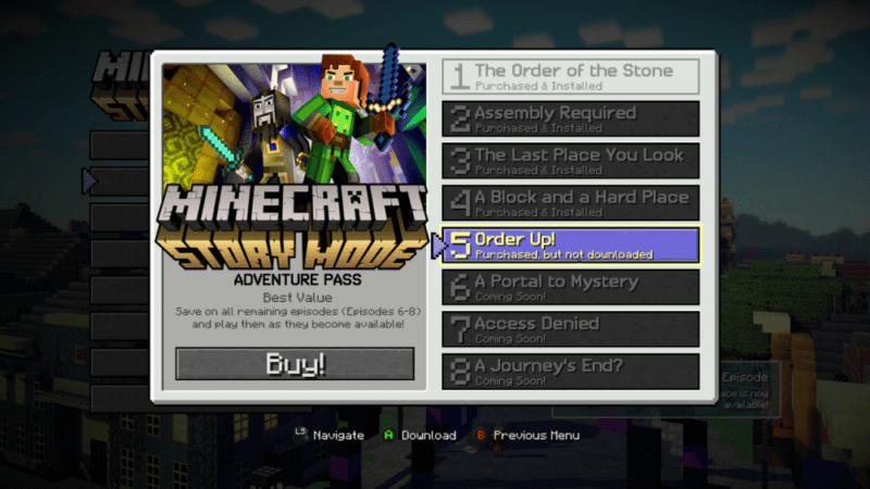 Minecraft Story Mode Episode 5 Debuts Launch Trailer