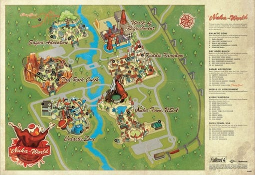Take a Look at Fallout 4\u0027s Nuka-World Attractions With This Cool