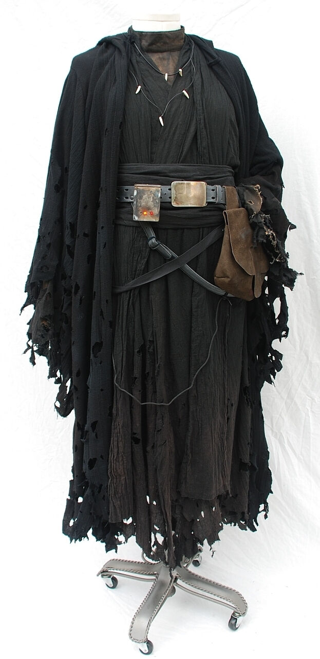 Pinnwand Kork Obi Unisex-kostüme Black Heavy Wool Type Fabric Robe/reaper/wizard/fancy-dress/halloween Domacija-bubec