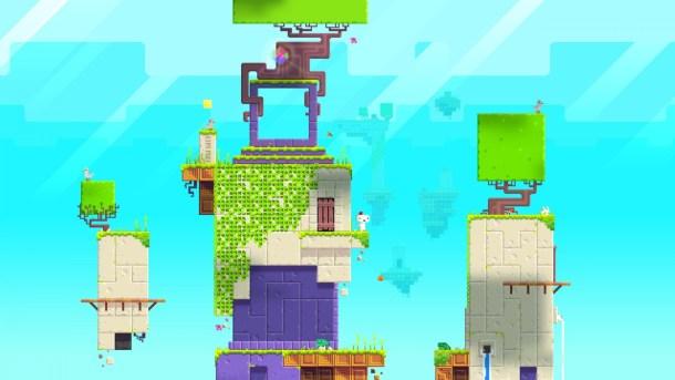 Fez game world