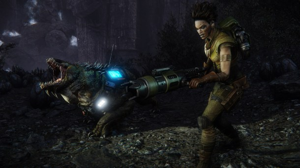 Evolve trappers Maggie and Daisy