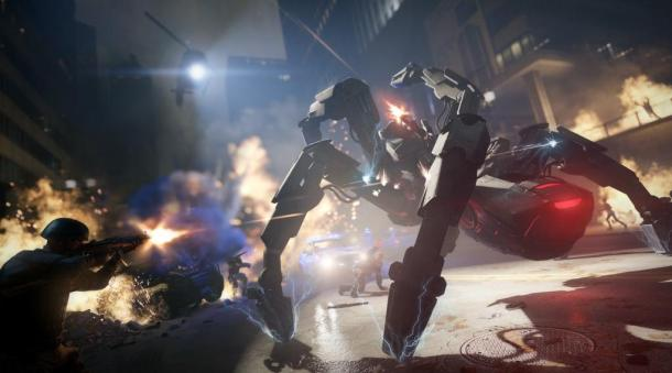Playing the part of a mecha-spider is not quite what I was expecting from Watch_Dogs!?