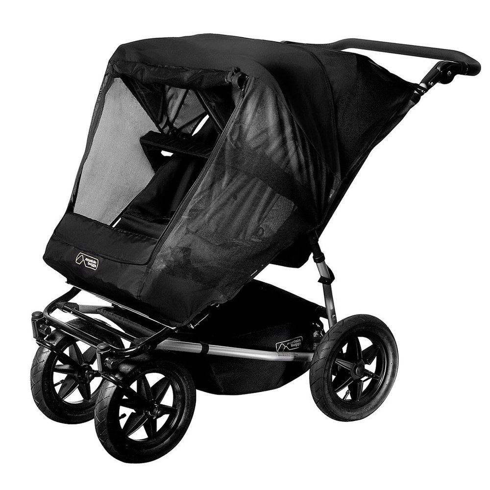 Stroller Mesh Cover Double Sun Cover For Duet By Mountain Buggy