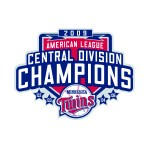 2009 Twins central division championship logo