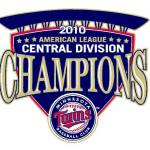 2010 Twins central division championship logo