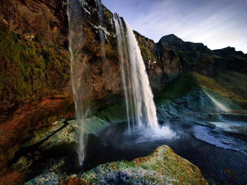 October Fall Wallpaper Picture Of The Day Seljalandsfoss Waterfall Iceland