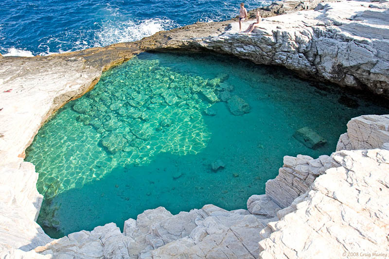 Piscinas Naturales Tenerife The Giola Lagoon In Greece «twistedsifter