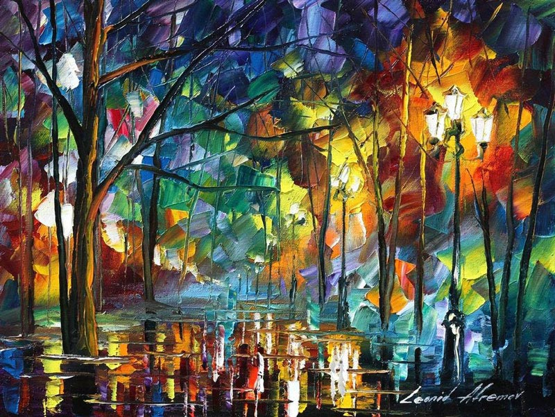 Vincent Van Gogh Quotes Wallpaper Breathtaking Oil Paintings Using Only A Palette Knife
