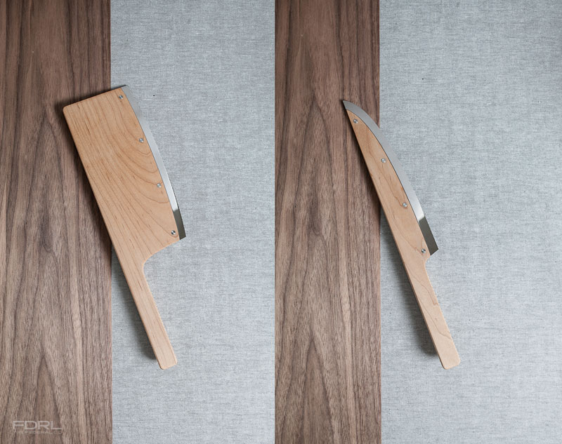 kitchen knives maple wood federal fdrl matelic image kitchen knives world