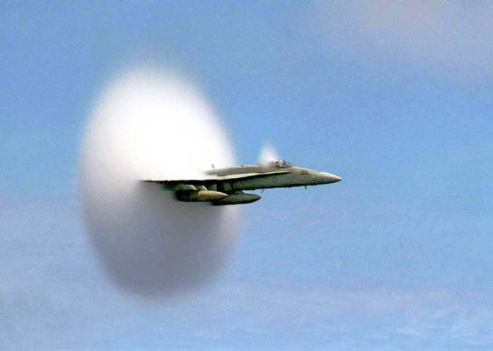 airplane-breaking-the-sound-barrier-perfect timing