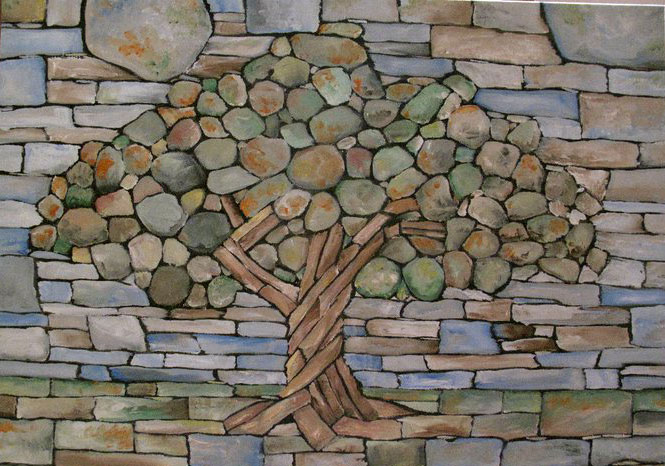 The Dry Stone Tree Wall That Love Built Twistedsifter