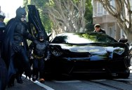Boy With Leukemia Becomes Batman for a Day