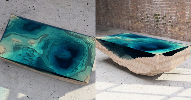 Rippling water tables by zaha hadid 171 twistedsifter