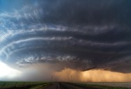 The Most Epic Supercell Thunderstorm Footage You Will See Today