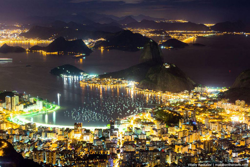 Funny Wallpaper With Quotes On Life Picture Of The Day Rio At Night 171 Twistedsifter