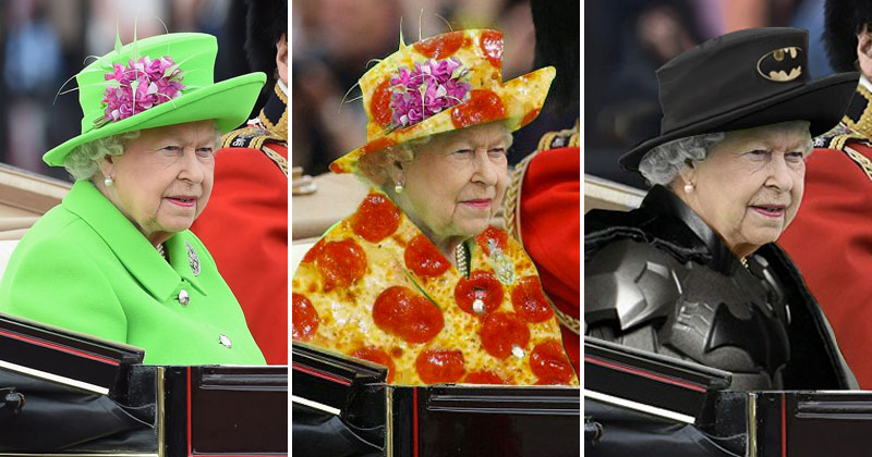 The Queen Wore A Green Screen Outfit And The Internet