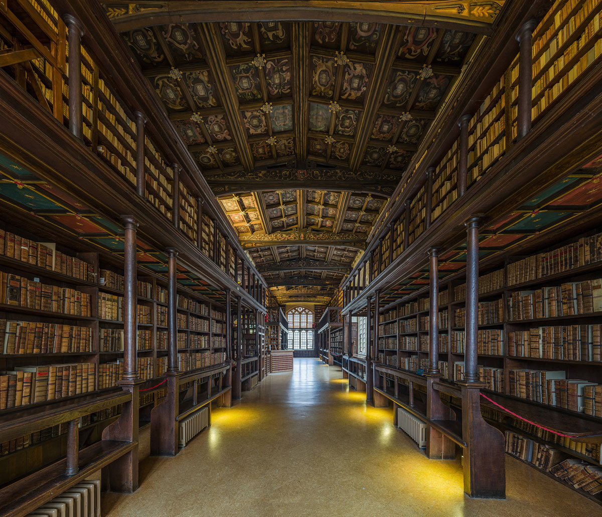 Bodleian Library This Reading Room At The University Of Oxford Is One Of