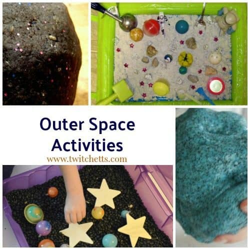 Space Theme Inspiration ~ Crafts, Activities, Printables and More