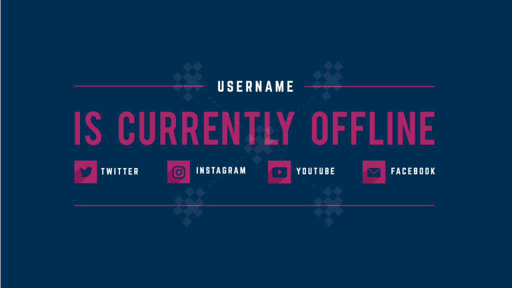 Twitch Offline Banners Custom And Template Twitch