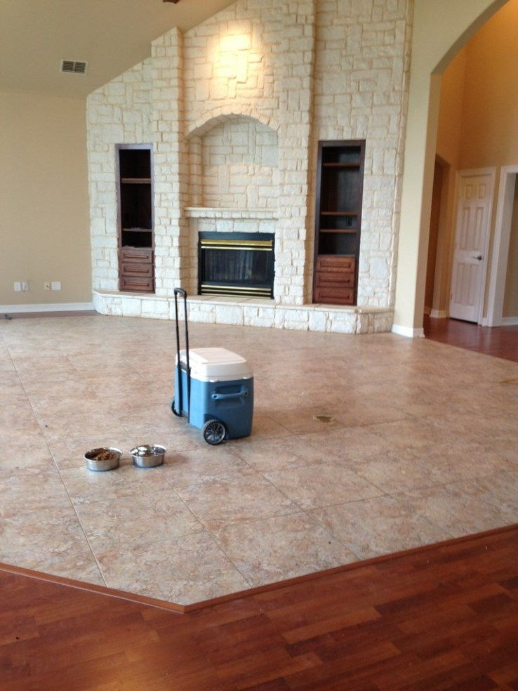 Ranch Home Post Construction Cleaning In Cedar Hill Texas