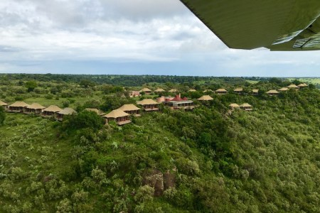 Aerial shot from Angama.com.