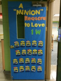 Back-To-School Door Decorating Ideas!  two apples a day