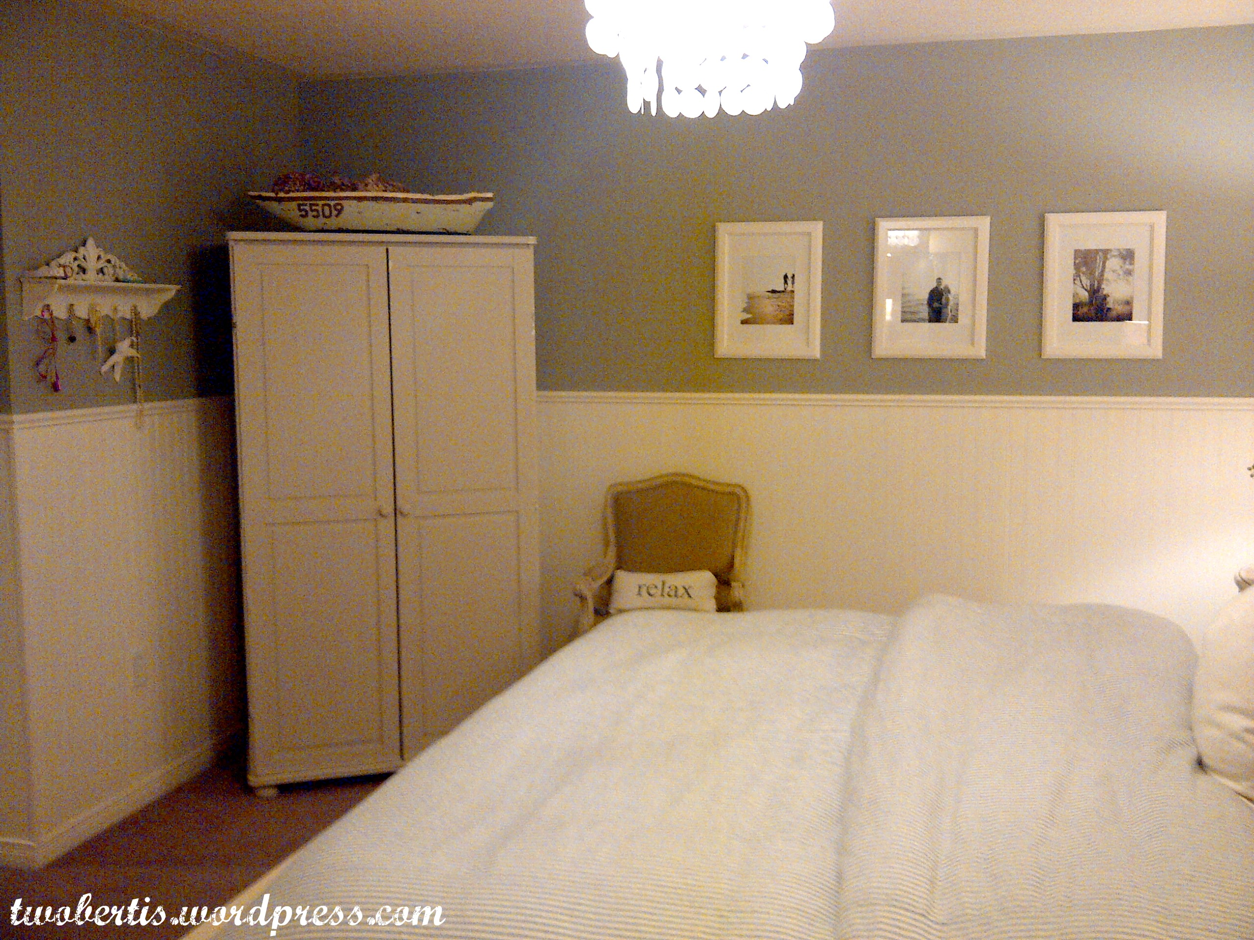 Big Mirror Stand Remodelaholic Pottery Barn Inspired Master Bedroom Makeover