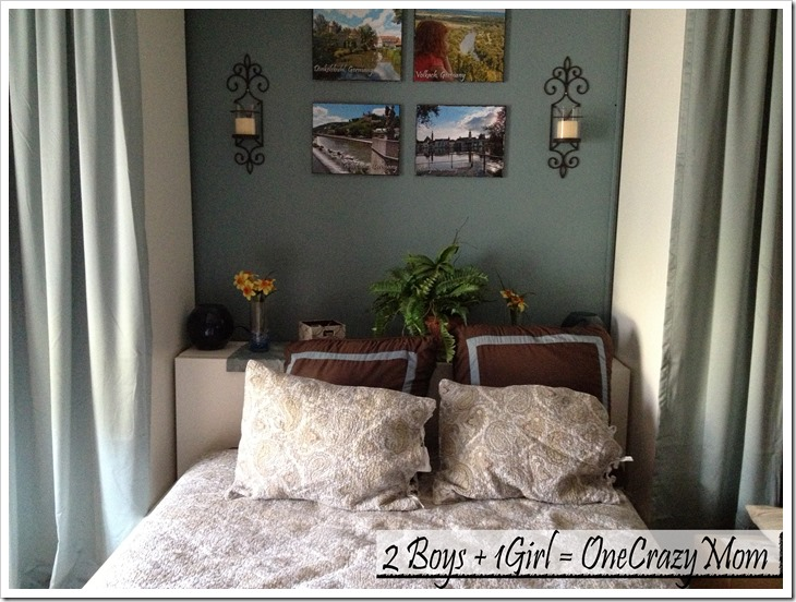 Bedroom Makeover With A Home Classic Memory Fiber Pillow