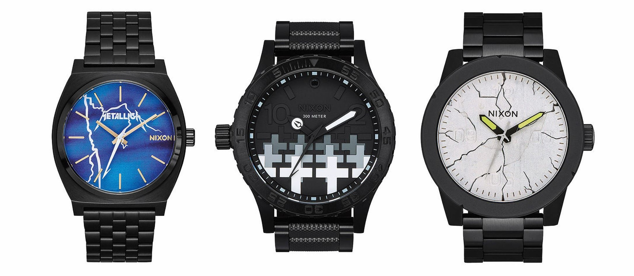 Nixon Watches Metallica Watches By Nixon Designs Inspired By Album Art And