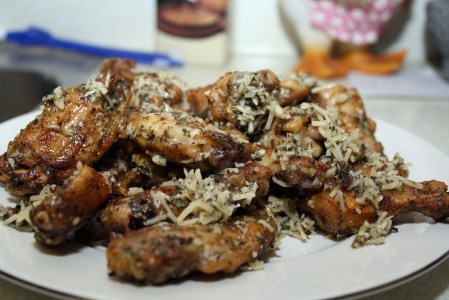 Garlic Wings In Oven