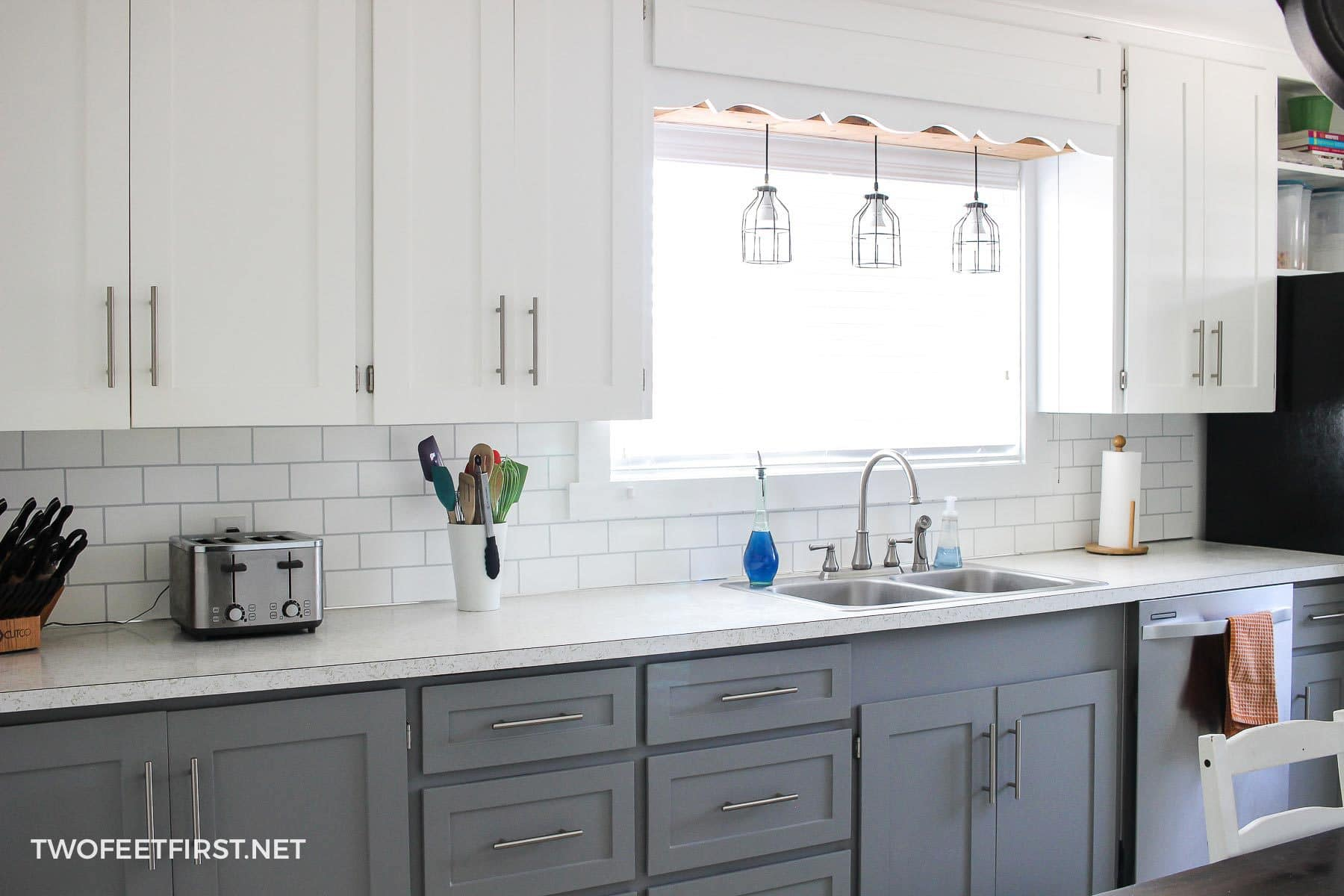 Replacing Kitchen Cabinets On A Budget Update Kitchen Cabinets Without Replacing Them By Adding Trim