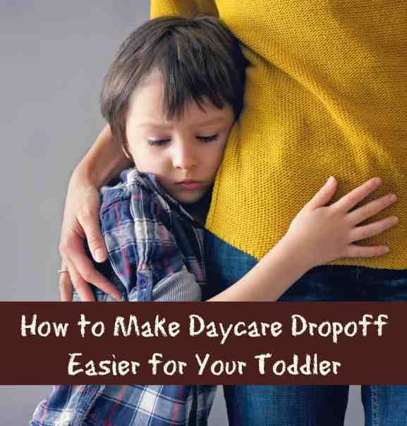 Is your child struggling with going to day care? Here's how to make it a little bit easier.