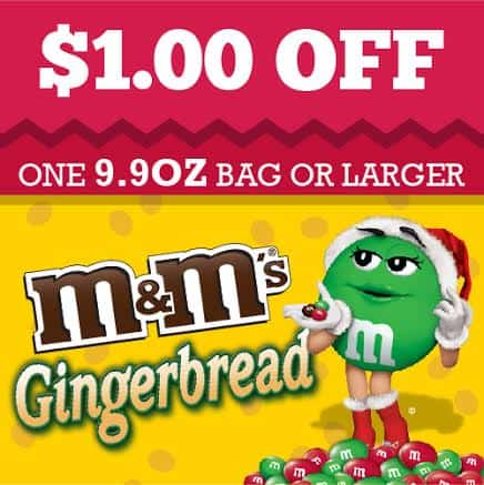M&Ms Gingerbread