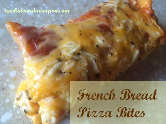 French Bread Pizza Bites 1