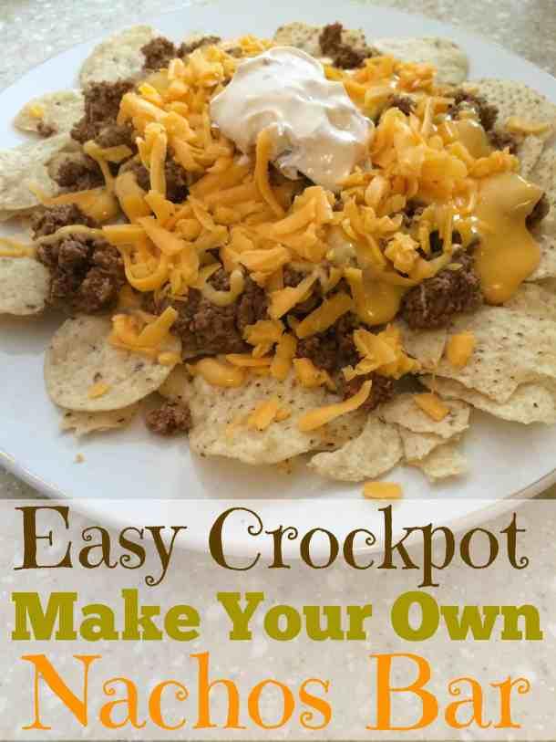 Crockpot Nachos
