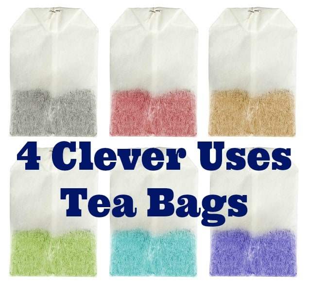 4 clever uses tea bags two kids and a coupon - Uses for tea bags ...