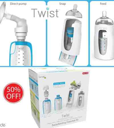 Kiinde Twist Breastfeeding System Coupons