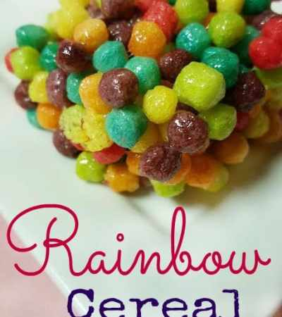 Rainbow Cereal Bars