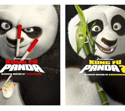 Kung Fu Panda on DVD and Blu-ray