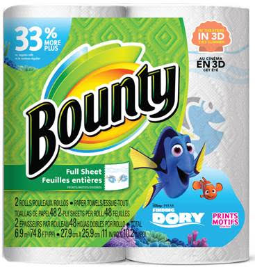 Dory Bounty Paper Towels