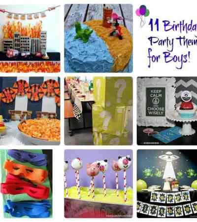 Birthday Party Theme Ideas for Boys