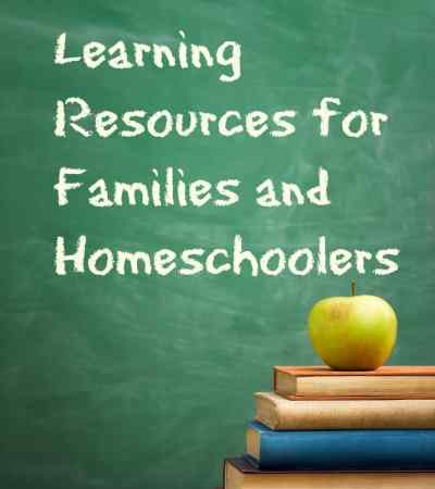 Free resources for homeschoolers