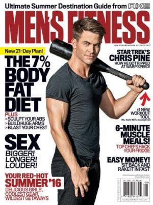 Free Subscription to Men's Fitness Magazine
