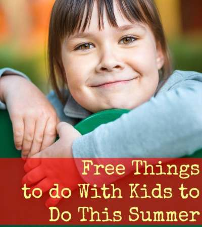 Looking for free things to do with your kids this summer? Here are some ideas!